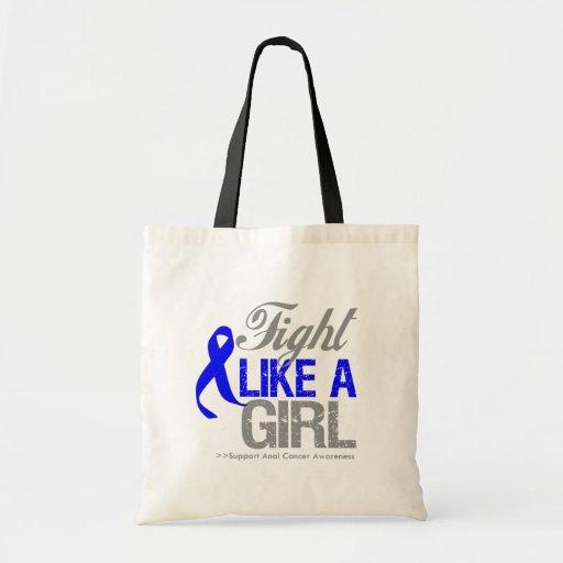 Cinta anal del cáncer - lucha como un chica bolsas de mano