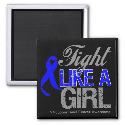 Cinta anal del cáncer - lucha como un chica iman de nevera
