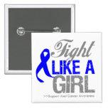 Cinta anal del cáncer - lucha como un chica pin