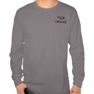 Cinta anaranjada de la conciencia del cáncer de F* Camiseta