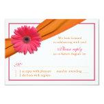 Cinta anaranjada de la margarita rosada de Gerber Comunicados