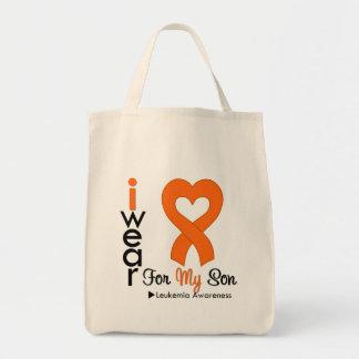 Cinta anaranjada del corazón del desgaste de la le bolsa de mano