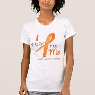Cinta anaranjada del desgaste de la leucemia I Camisas