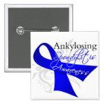 Cinta Ankylosing de la conciencia de Spondylitis Pin Cuadrado