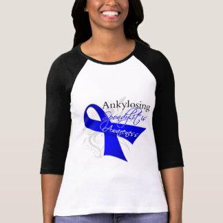 Cinta Ankylosing de la conciencia de Spondylitis T Shirts
