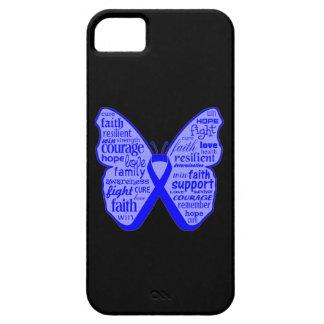 Cinta Ankylosing de la mariposa de Spondylitis iPhone 5 Fundas