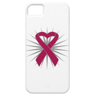 Cinta Ankylosing del corazón de la conciencia de iPhone 5 Protectores