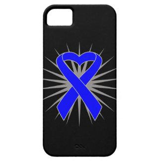 Cinta Ankylosing del corazón de la conciencia de iPhone 5 Protector