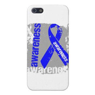 Cinta Ankylosing del Grunge de la conciencia de Sp iPhone 5 Fundas