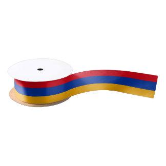 Cinta armenia de la bandera lazo de raso