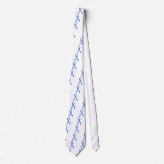 Cinta azul clara corbata
