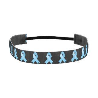 Cinta azul clara del cáncer de próstata bandas de cabello antideslizantes