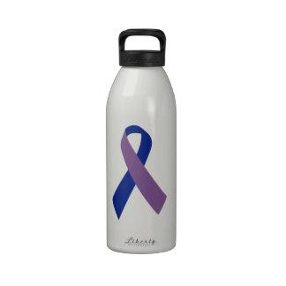 cinta azul de la conciencia de la artritis botallas de agua