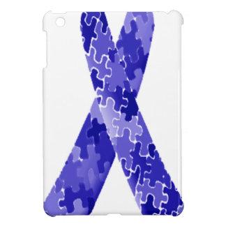 Cinta azul del modelo del rompecabezas