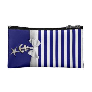 Cinta blanca náutica y encantos de la raya azul