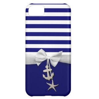 Cinta blanca náutica y encantos de la raya azul gr