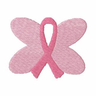 Cinta bordada de la mariposa del cáncer de pecho