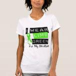Cinta Brother de la verde lima del linfoma Camisetas