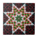 Cinta caramelo edredón estrella diciembre de 2012 teja cerámica