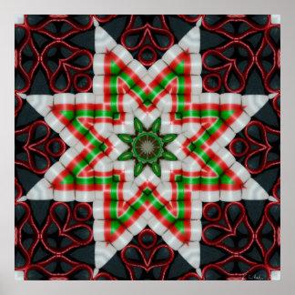 Cinta caramelo edredón estrella diciembre de 2012 póster