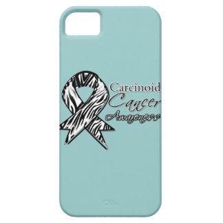 Cinta Cebra-Rayada de la conciencia del cáncer car iPhone 5 Case-Mate Carcasas