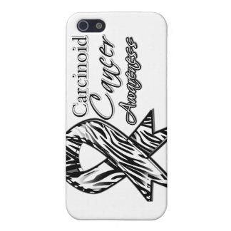 Cinta Cebra-Rayada de la conciencia del cáncer car iPhone 5 Carcasa