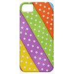Cinta colorida de Pascua iPhone 5 Cárcasas