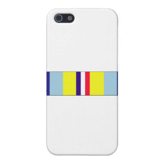 Cinta conmemorativa del servicio de ultramar iPhone 5 protector