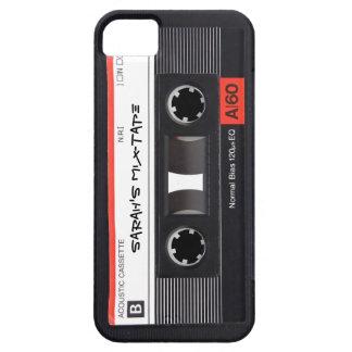 Cinta de casete de encargo iPhone 5 Case-Mate fundas