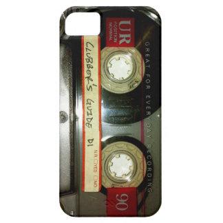 Cinta de casete de la escuela vieja iPhone 5 Case-Mate funda