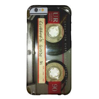 Cinta de casete de la escuela vieja funda de iPhone 6 barely there