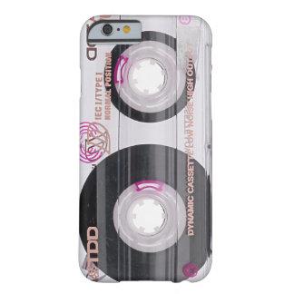Cinta de casete de la escuela vieja funda barely there iPhone 6