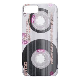 Cinta de casete de la escuela vieja funda iPhone 7