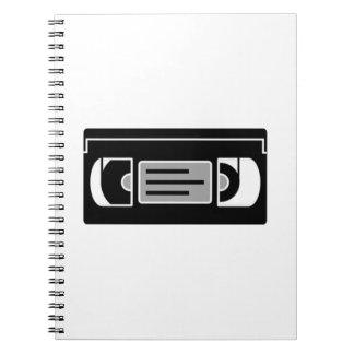 Cinta de casete de VHS Libretas Espirales