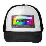 Cinta de casete del arco iris gorro de camionero