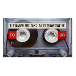 Cinta de casete Extraordinaire de DJ Tarjeta De Visita