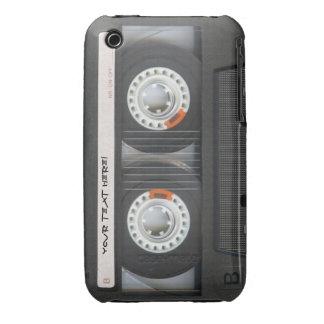 Cinta de casete fresca del vintage - Mixtape Carcasa Para iPhone 3