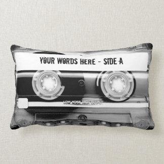 Cinta de casete Mixtape (personalizado) Cojín