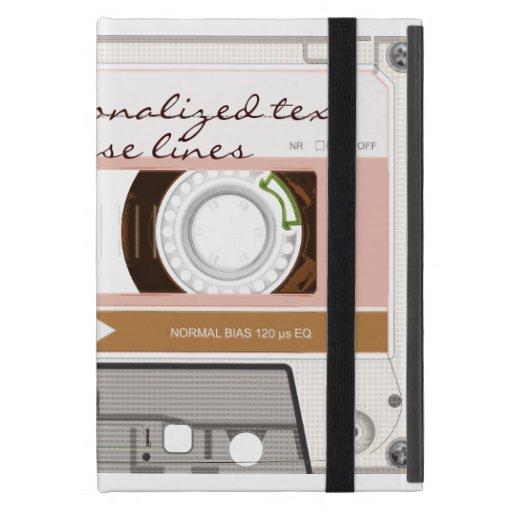 Cinta de casete - moreno - iPad mini cárcasas