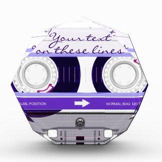 Cinta de casete - púrpura -