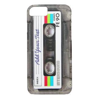 Cinta de casete retra divertida de música del funda iPhone 7