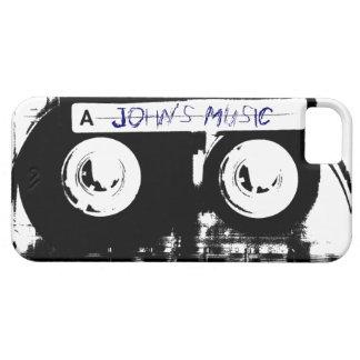 Cinta de casete retra fresca de música iPhone 5 carcasa