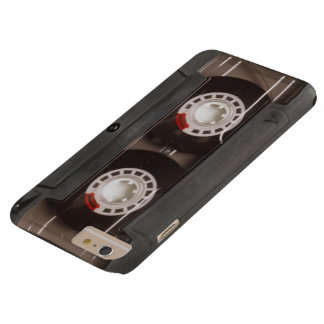 Cinta de casete retra fresca funda para iPhone 6 plus barely there
