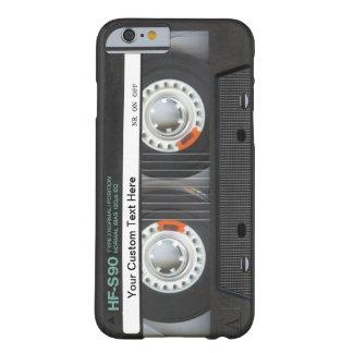 Cinta de casete retra funda de iPhone 6 barely there