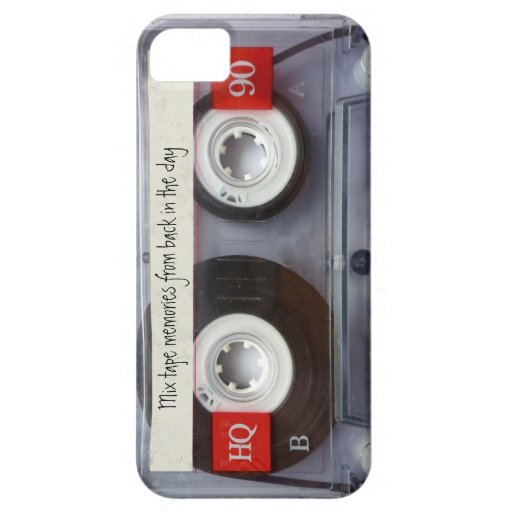 Cinta de casete retra iPhone 5 Case-Mate cobertura