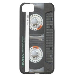 Cinta de casete retra funda para iPhone 5C