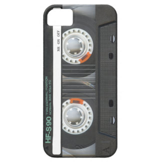 Cinta de casete retra iPhone 5 carcasa