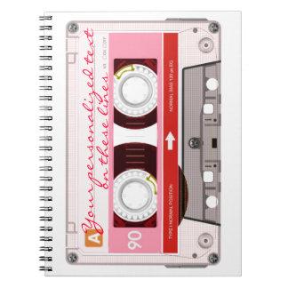 Cinta de casete - rojo - cuadernos