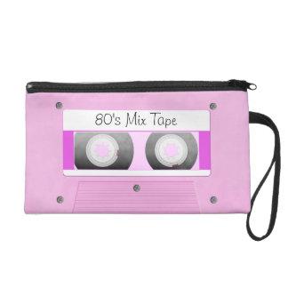 Cinta de casete rosada