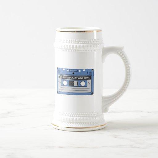 Cinta de casete tazas de café